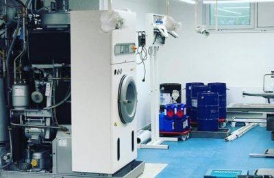 Gumminoppenbelag In Einer Wäscherei